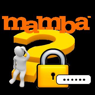 Забыл пароль от Мамбы что делать